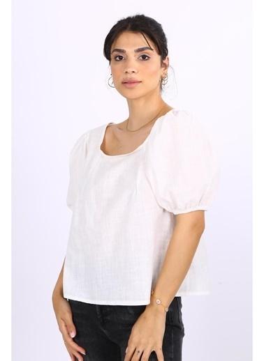 Female Project Bluz Beyaz